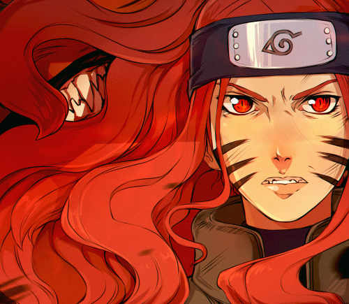 Kushina nine tails vessel